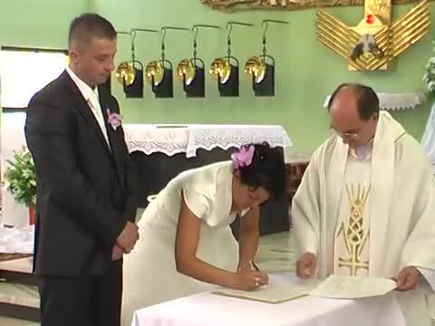 Wzruszający ślub Brat Zrobił Niespodziankę Siostrze Cwirek1102
